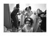 Bridesmaid (Jan Dobrovsky) Tags: blackandwhite leicaq girl krásnálípa monochrome indoor portrait people grain roma northernbohemia wedding social gypsies document