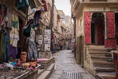 Rajasthan - Jaisalmer - Fort Streets