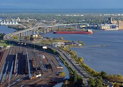 Rail & Sail - Sunny (Missabe Road) Tags: gn 3429 bnsf 2014 csl assiniboine fivelborg
