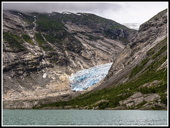 Paseando por Noruega: Glaciar Nigardsbreen (edomingo) Tags: edomingo olympusomdem10 mzuiko14150 noruega glaciar nigardsbreen hieloazul