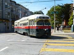 1077 (Jef Poskanzer) Tags: 1077 fmarket muni pcc streetcar 17th geotagged geo:lat=3776294 geo:lon=12242846 t