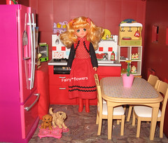Candy in the Kitchen... (fairy*flowers) Tags: candy doll fashion kitchen rement barbie