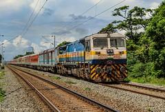 11017 Lokmanya Tilak-Karaikal express (Gautham Karthik) Tags: train indianrailways trainspotting diesellocomotive electromotivediesel emd wdp4d lokmanyatilak karaikalexpress chengalpattu thirumani