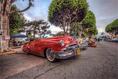 1950 chevy deluxe convertible (pixel fixel) Tags: 1950 chevrolet convertible deluxe diadelosmuertos red uptown whittier