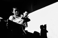 Anino (Meljoe San Diego) Tags: meljoesandiego ricoh ricohgr streetphotography street streetlife candid shadow monochrome philippines