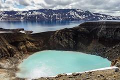 Viti crater & Öskjuvatn lake (SkyValley69) Tags: iceland caldeira öskjuvatn askja