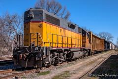 LLPX 2338   EMD GP38-2   UP Memphis Subdivision (M.J. Scanlon) Tags: up unionpacific up1969 up469 emd emdx837 gp382 llpx2338 pc8037 cr8037 gmtx2191 mqt2004 mqt2040 emdx llpx pc cr mqt locomotiveleasingpartners penncentral conrail marquetterail 735498 electromotive job45 lwt45 uplwt45 unionrailway coxstreet upmemphissub local memphis tennessee digital merchandise commerce business wow haul outdoor outdoors move mover moving scanlon canon eos engine locomotive rail railroad railway train track horsepower logistics railfanning steel wheels photo photography photographer photograph capture picture trains railfan