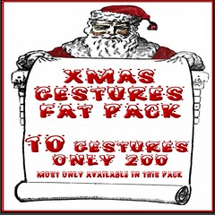 xMAS  GESTORES (lifelandsrentjupiter) Tags: yes all gestures only 25l original my own creations fun serious whatever else custom made available reasonable prices httpmapssecondlifecomsecondlifewcam18222854
