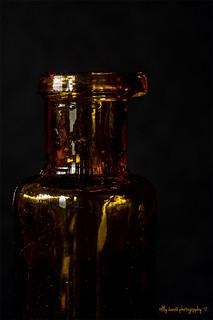 #Sidelit brown bottle