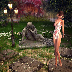 LuceMia - GIULIADESIGN (MISS V♛ ITALY 2015 ♛ 4th runner up MVW 2015) Tags: giuliadesign sl new fashion mesh creations colors flower models lucemia