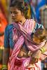 Tribal market (wietsej) Tags: tribal market mother child baby sony a100 zeiss sal135f18z 13518 sonnar13518za kawardha chhattisgarh india wietse jongsma bhoramdeo