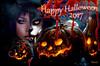 Happy Halloween 2017 (  Raven  ) Tags: sl second life happy halloween 2017 ravi ravishing artworks