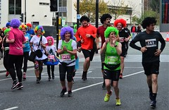 Echo Scouse 5K Fun Run 2017 (sab89) Tags: liverpool echo 5k fun charity run runners running street everyman theatre hope anglician catherdral the metropoliton cathedral paddys wigwam comedy moustache silly curly scouse trackie bottoms shell suit calm down boss event raves fancy dress wigs medals abissa drumming african drumers