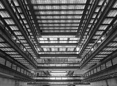 . (SA_Steve) Tags: bellworks eerosaarinen architecture newjersey nj building glass metal blackwhite atrium