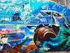 marine wall (nothinginside) Tags: marine wall murales graffiti street art pop colors colours 2017 malta sliema promenade seaside mare sea walk artist balena whale snail lumaca baby swimming nevermind