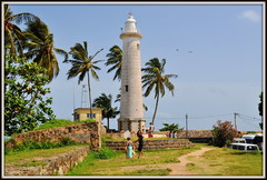 Galle , le phare sur les remparts (Sri lanka) (scoubidou13) Tags: asie asia ceylan galle srilanka srilankan phare remparts lighthouse