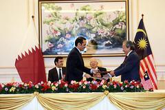Lawatan Negara Sempena Lawatan DYMM Sheikh Tamim Bin Hamad Al-Thani, Emir Negara Qatar Ke Malaysia. 16/10/2017.