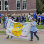 "<b>Homecoming Parade</b><br/> The Performing Art Committee marched in the parade. Saturday morning the Homecoming Parade commenced. The parade was put on by SAC, Student Activities Council. Photo Taken By: McKendra Heinke Date Taken: 10/7/17<a href=""http://farm5.static.flickr.com/4500/37755942281_26717602cf_o.jpg"" title=""High res"">∝</a>"