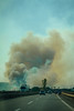 Boiling island (A><EL) Tags: sicily italy sicilia italia europe canon hungarian travel 700d color smoke fire wildfire autobahn highway autostrada car cloud burning 50mm