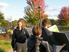 EGRPS Chief Herald Welcomes ATU Demonstrators (PPWIII) Tags: grandrapids east atu egr amalgamated transit union city commission lakeside egrps