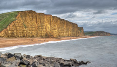 The coast at West Bay, Dorset (Explored) (Baz Richardson (catching up again)) Tags: dorset westbay jurassiccoast eastcliffwestbay cliffs beaches coast explored