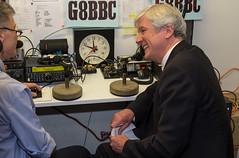 DSCF3296 (chalkie) Tags: g8bbc bbc radioamateur bbcradioamateurgroup broadcastinghouse london radio shortwave vhf lordhall tonyhall directorgeneral bbcdirectorgeneral jonathankempster jimlee