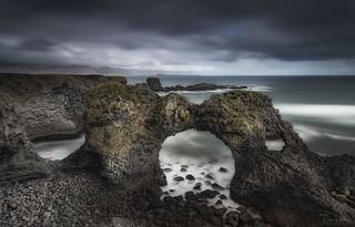 Gatklettur Sea Arch