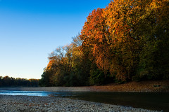 Herbst Isar 2017 Sunrise (herr_muenchen) Tags: goldeneroktober herbst sonnenaufgang munich isar river sunrise sony