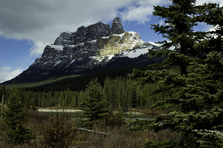 Castle Mountain near Canmore Alberta