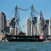 USS Constitution sails in Boston Harbor to commemorate the Navy's 242nd birthday.