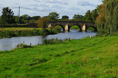 The bridge across the Nene at Fotheringhay (Jayembee69) Tags: northamptonshire northants england english britain british uk united kingdom fotheringhay fotheringhaycastle gb nene river bridge