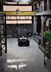 Gymkhana 7 (_primozm) Tags: primozm lego starting scene start warehouse interior facility indoor layout diorama southern california steel scs 7 seven gymkhana hoonicorn ken blocks mustang ford