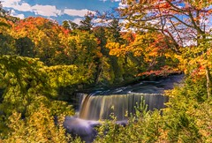 Autumn Afternoon at Tahquamenon Falls_ (Cole Chase Photography) Tags: waterfall autumn foliage michigan october fall