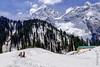 Snow 46 ... (Bijanfotografy) Tags: nikon nikond800 nikonfx fx zeiss zeiss15mm zeissdistagon15mm28 india kashmir jammukashmir jk snow sonamarg sky mountainside mountains people