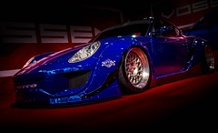 IMPORTFEST 2017 (Dave GRR) Tags: car blue auto porsche custom kit exotic show importfest toronto 2017 olympus omd em1 1240