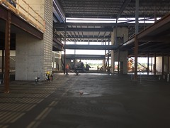 PCC Construction - Summer 2017 - Atrium Lobby, along with Bissell's Hideaway Upper Bridge