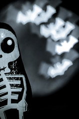 Don't bite, I'm just chocolate!! (mvnfotos) Tags: spooktacular smileonsaturday halloween happyhalloween macromondays bokeh