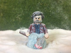 Custom Lego Jack Torrence - The Shining (JerdFigs) Tags: dull🅱️🅾️y all work no play