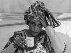 Tea Time (Maikerufotos) Tags: tea portrait black white bw blackwhite queen time