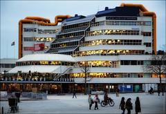 Роттердам, Голландия, Публичная библиотека (zzuka) Tags: rotterdam netherlands роттердам голландия
