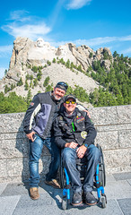 2 Moses and Rich N. at Mt. Rushmore