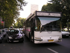 Renault service bus, Tehran, Iran. (KK70088) Tags: bus servicebus localbus publictransport iran tehran renault ایران تهران