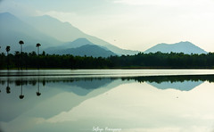 Zen mode (Sathiya Narayanan.M.M) Tags: landscape reflections art salem lakeside countryside tamilnadu