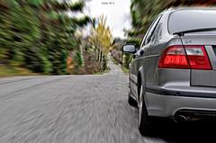 The adventure begins (Kobie M-C Photography) Tags: action photoshop manipulation photo editing saab 95 pentaxian pentaxk30 automotive car transportation automobile
