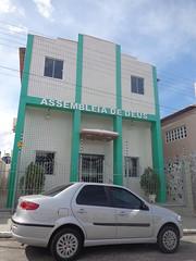 Santa Cruz - Igreja Evangélica Assembleia de Deus (Sergio Falcetti) Tags: brasil cidade igreja riograndedonorte rn santacruz viagem