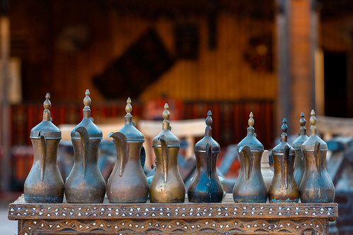 Showcasing the Coffee Pots