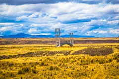 In the altiplano in Southern Peru there are many bridges in the fields.  Perhaps in the rainy season these fields are quite wet.