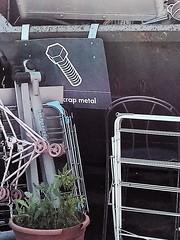 no kidding (n.a.) Tags: crap scrap metal dump recycling centre iod e14 london