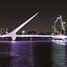Argentina 2017 10-04 2 Argentina Buenos Aires Puente De La Mujer Night IMG_4825