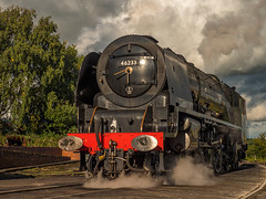 MRC2017-23 (Dreaming of Steam) Tags: 6233 46233 duchess duchessofsutherland heritage heritagerailways lms midlandrailwaycentre princesscoronation princesscoronationclass railway stainer steam steamengine sutherland train vintage engine locomotive railroad smoke steamlocomotive